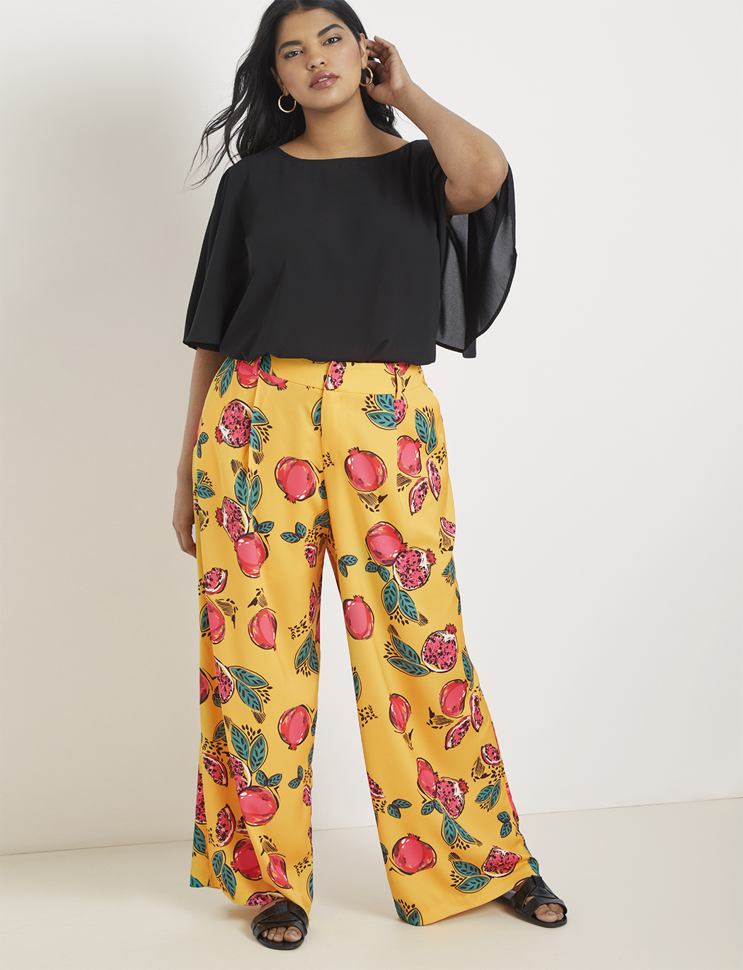 Soft Wide Leg Trouser