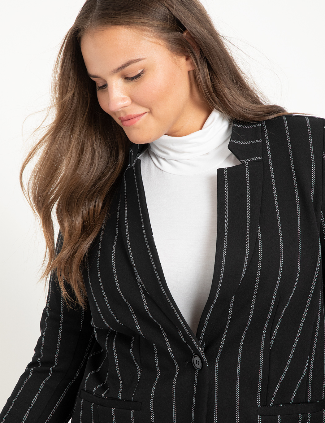 D&G Double Breasted Pinstripe Blazer | Nordstrom