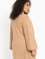 Cardigan Sweater Dress Caramel