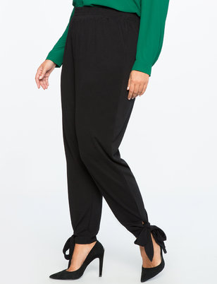Pull On Easy Ankle Wrap Pant