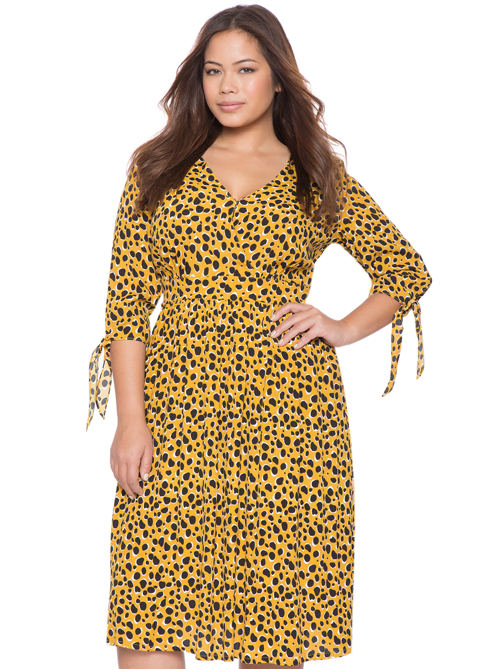 e3ced9755f5 Printed Wrap Dress