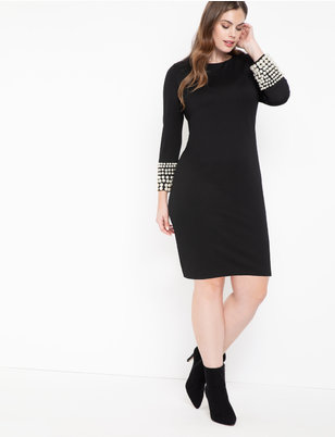 Pearl Cuff Dress