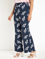 Printed Flare Leg Pant Damsel in this Dress