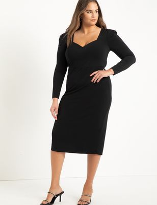 Dramatic Sweetheart Bodycon Dress