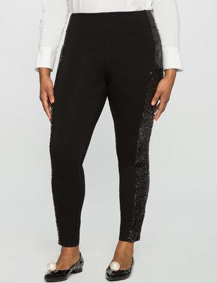 Miracle Flawless Sequin Embellished Legging