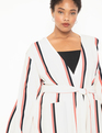 Dropped Shoulder Duster Earn Your Stripes