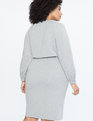 Sweatshirt Dress Light Heather Grey