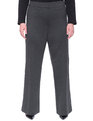 Soft Flared Pant Charcoal Heather