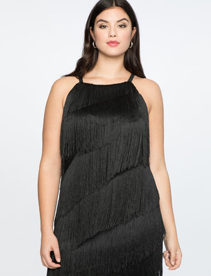 Fringe Easy Dress