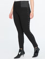 Miracle Flawless Stud Detail Legging Totally Black