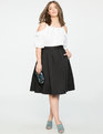 Kaya Midi Skirt Black