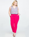 9-to-5 Stretch Pintuck Pant Bright Rose