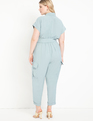 Utility Jumpsuit with Cargo Pockets Arona