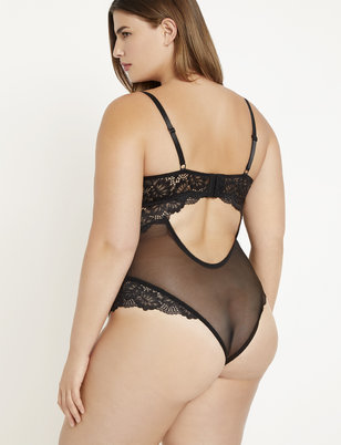 Unlined Lace Bodysuit