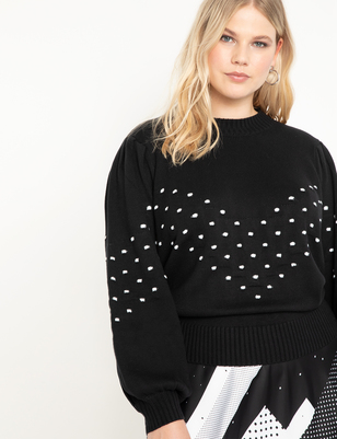 Bauble Detail Sweater