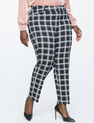 Kady Windowpane Pant
