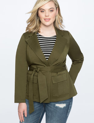 Utility Jacket with Belt