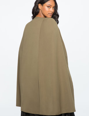 Below The Knee Cape Jacket