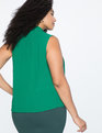 9-to-5 Layering Tank Viridian Green