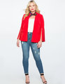 Flare Sleeve Blazer Engine Red