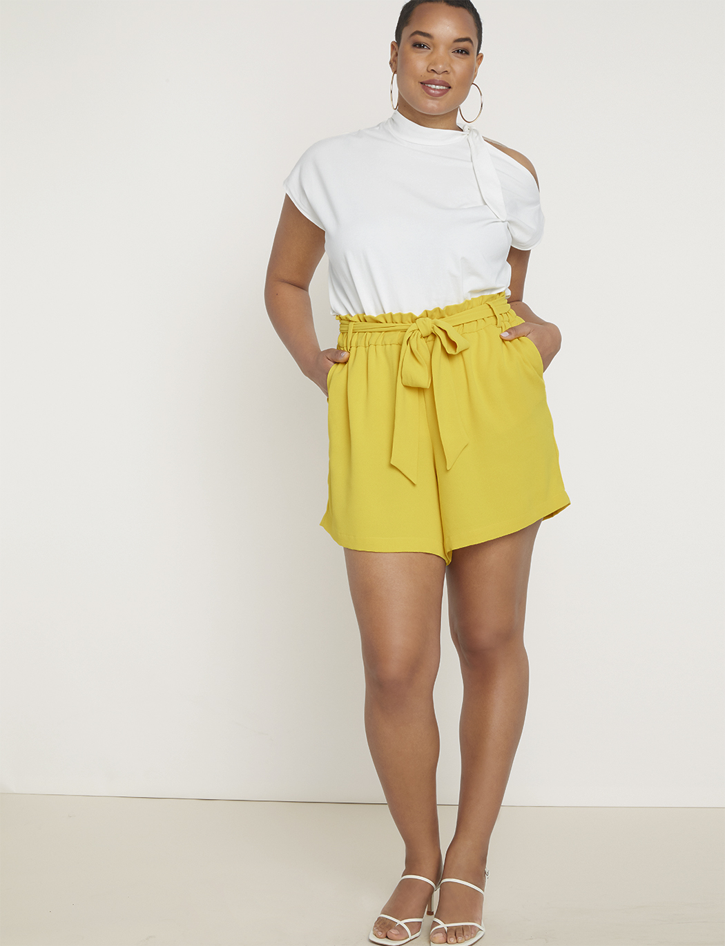 372519ffe7e Paperbag Waist Short with Belt