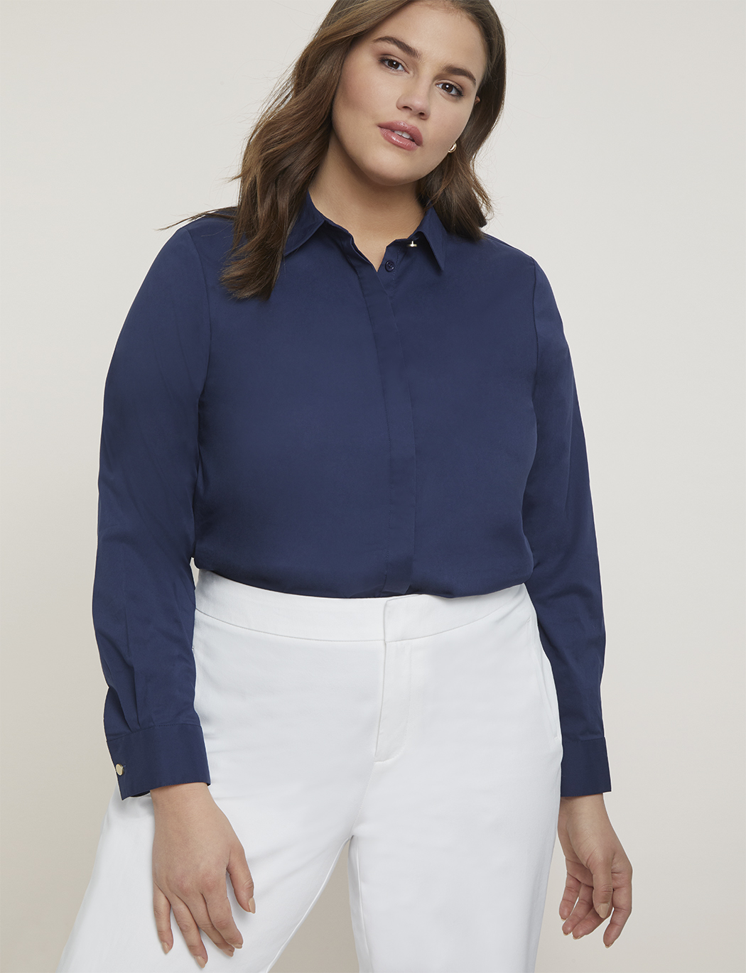 Premier Button Down Top