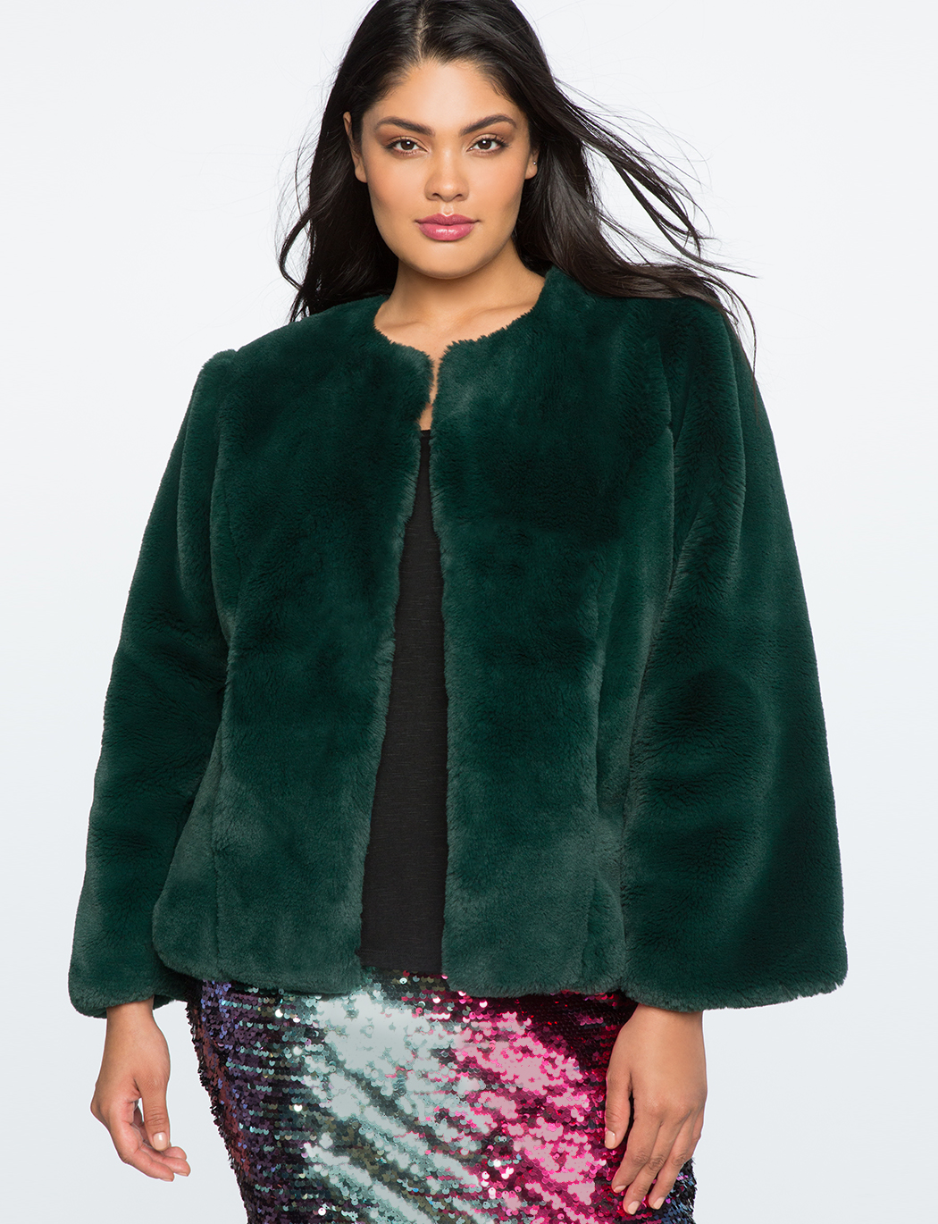 80db69e4e0d Faux Fur Coat