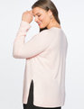 Premier Cashmere Pullover Sweater Pale Pink