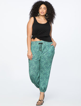 Printed Pull on Pant