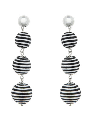 3-Tier Ball Drop Earrings