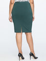 9-to-5 Stretch Work Skirt Black Forest