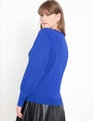 Puff Sleeve Sweater Dazzling Blue