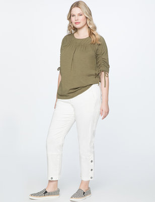 Side Snap Utility Pant