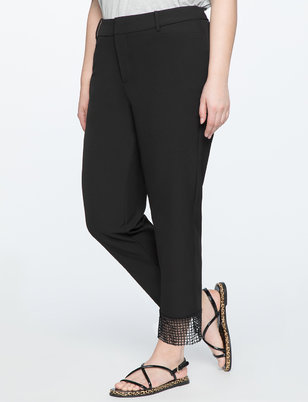 Kady Fit Lace Cuff Pant