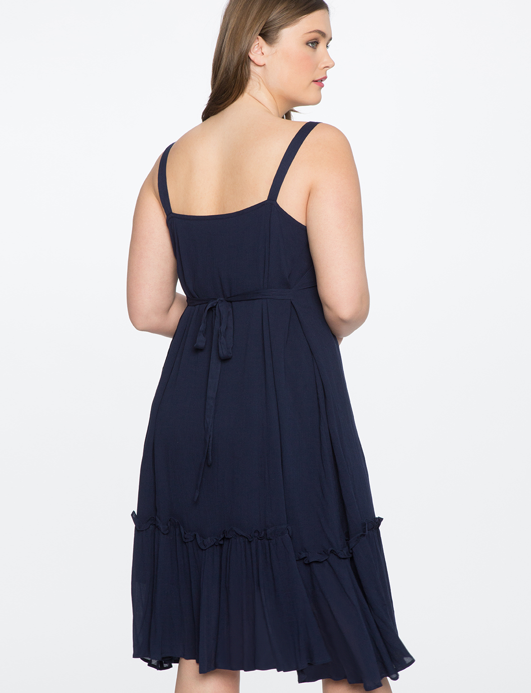 Pom Pom Trim Dress