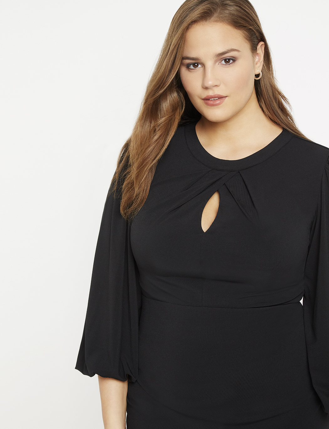 Petal Neckline Dress