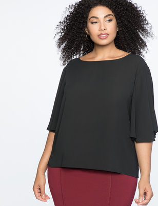 Plus Size Work Tops Office Ready Blouses Eloquii