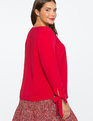 Tie Cuff Top JESTER RED