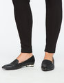 Grace Pointed Toe Flat Black