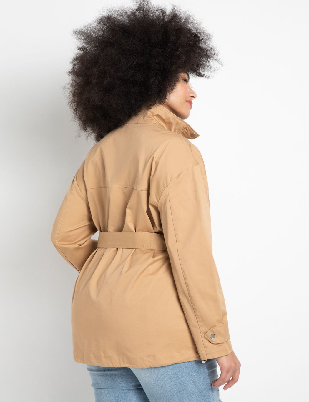 Belted Trench Jacket