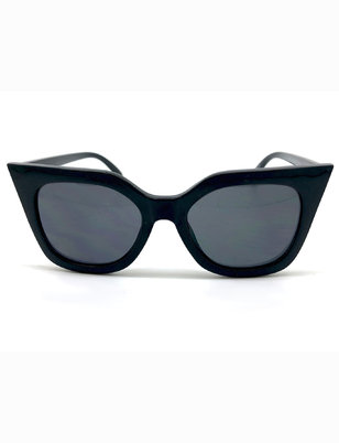 Pointed Brow Sunglasses