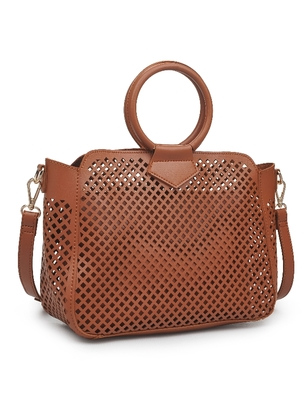 Laser Cut Satchel Bag