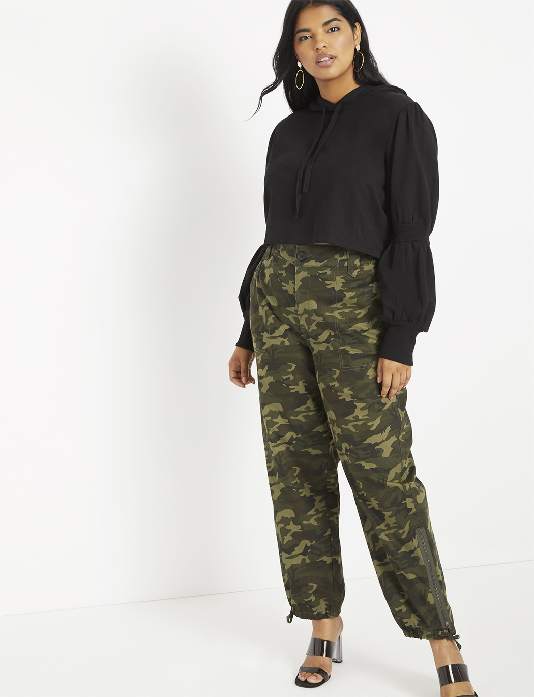 latest sale special buy newest style of Camouflage Cargo Pant | Women's Plus Size Pants | ELOQUII