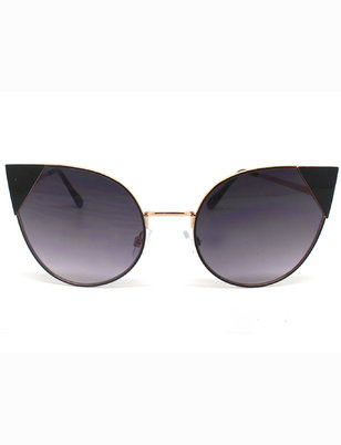 Extreme Pointed Cateye Sunglasses