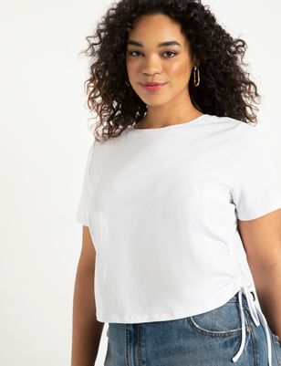 Tee with Side Ties