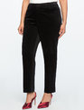 Kady-Fit Velvet Pant Totally Black