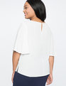 9-to-5 Layering Top Soft White
