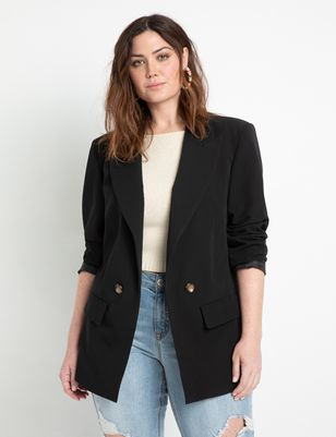 Long Relaxed Blazer