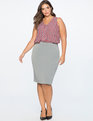 Premier Bi-Stretch Work Skirt Heather Grey