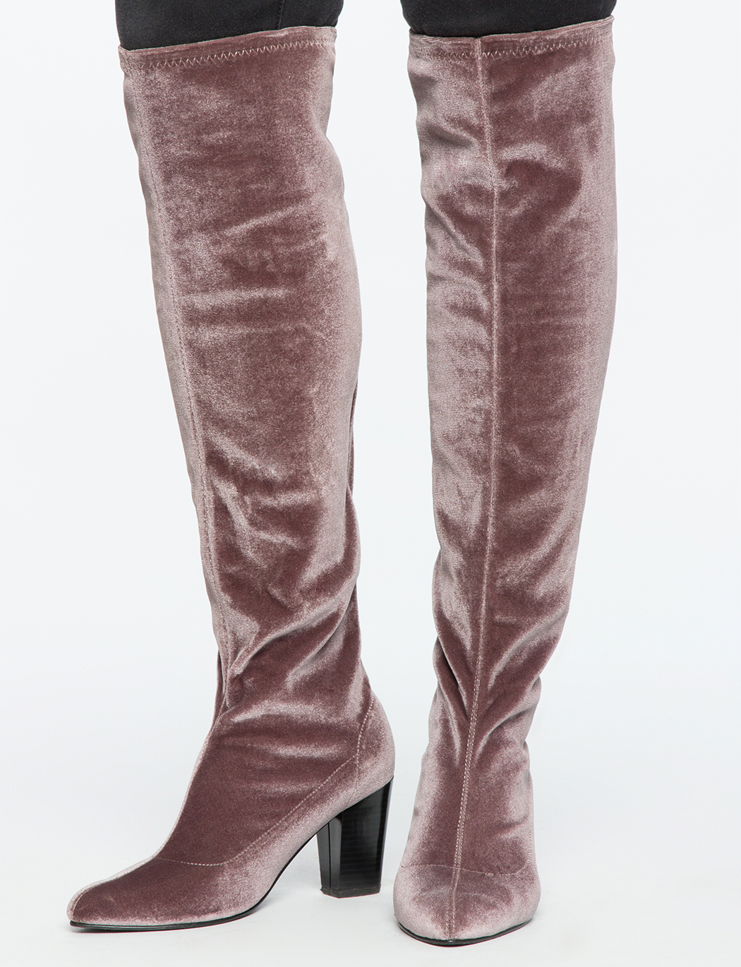 Zelinda Over the Knee High Heel Boot